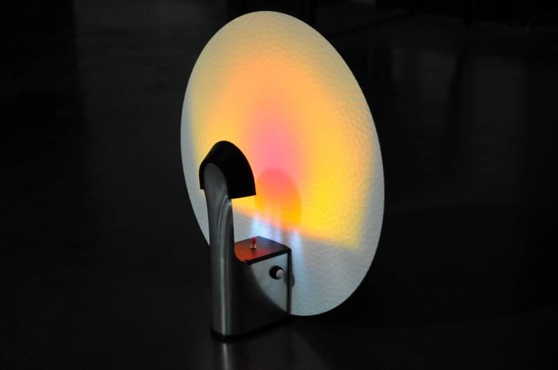la lampe a t ralise intgralement au fablab rso nances en aluminium et plastique