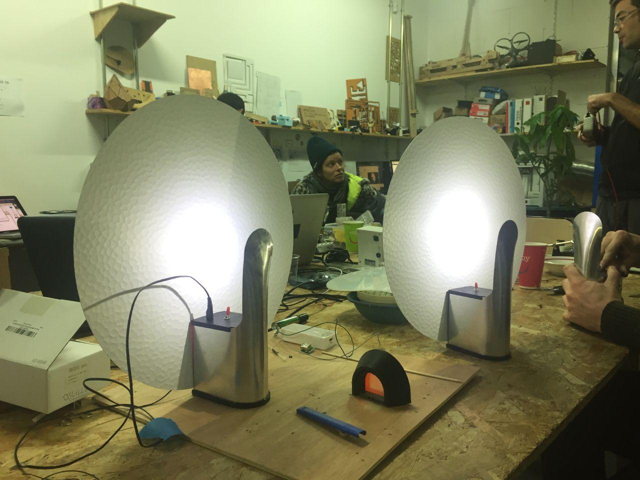 design objet de la lampe