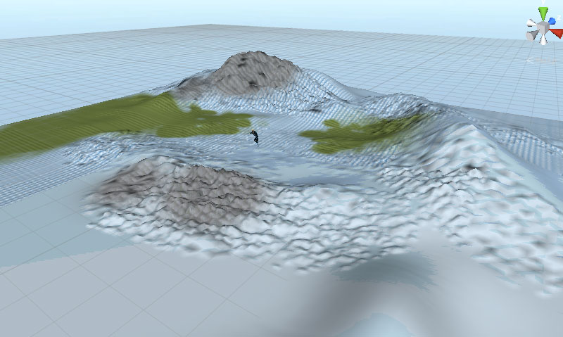 GameObject terrain